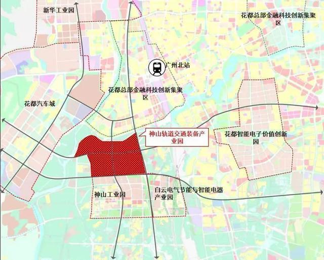 详细规划来了~神山轨道交通装备产业园拟建产城融合绿色园区