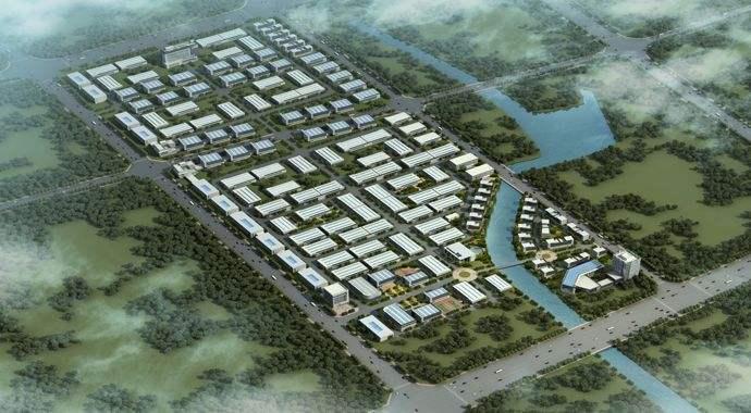 中原环保装备制造产业园项目正式开工