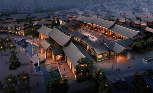 香河县领导考察中能建产业园区
